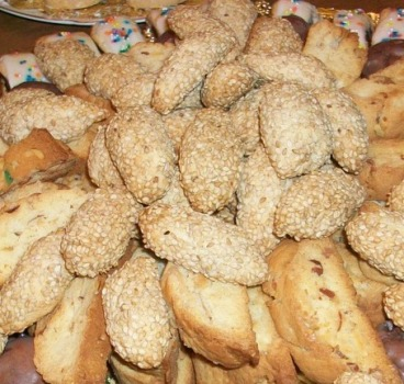 Mom's Sesame Cookies