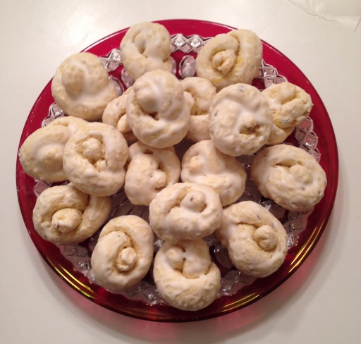 """Grandma tied the Taralli in knots because she felt they tasted better."" - Mama Iuliano"
